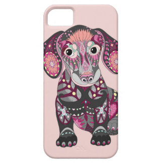 Funda Para iPhone SE/5/5s Colores del Dachshund