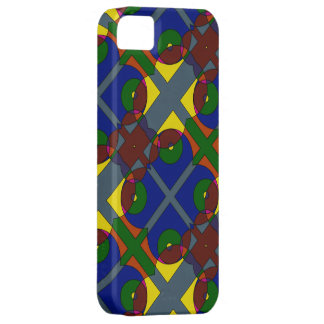Funda Para iPhone SE/5/5s Colores y cubierta del teléfono de las formas