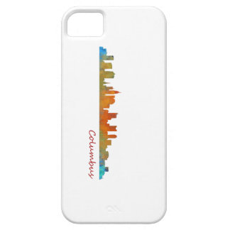 Funda Para iPhone SE/5/5s Columbus Ohio, City Skyline, v1