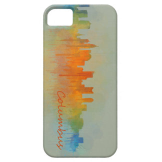 Funda Para iPhone SE/5/5s Columbus Ohio, City Skyline, v3