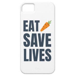 Funda Para iPhone SE/5/5s Coma al vegano - vidas de la reserva