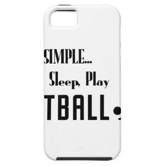 Funda Para iPhone SE/5/5s coma el fútbol del juego del sueño