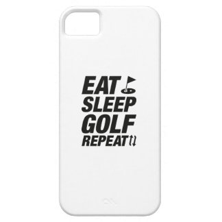 Funda Para iPhone SE/5/5s Coma la repetición del golf del sueño