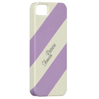 Funda Para iPhone SE/5/5s Combinación de color beige y violeta. SE de