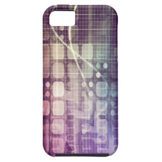 Funda Para iPhone SE/5/5s Concepto abstracto futurista en tecnología