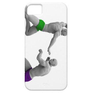Funda Para iPhone SE/5/5s Concepto de los artes marciales para luchar y la
