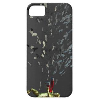 Funda Para iPhone SE/5/5s Concepto del márketing con el hombre de negocios