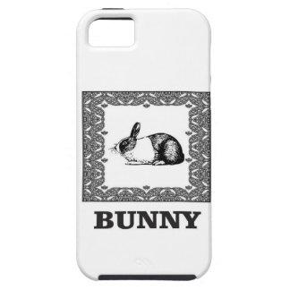 Funda Para iPhone SE/5/5s conejito blanco y negro