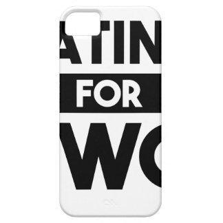 Funda Para iPhone SE/5/5s Consumición para dos