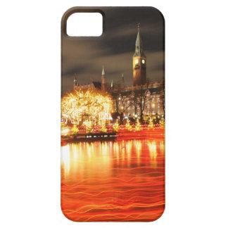 Funda Para iPhone SE/5/5s Copenhague, Dinamarca en el navidad