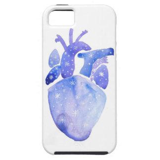 Funda Para iPhone SE/5/5s Corazón del cielo nocturno