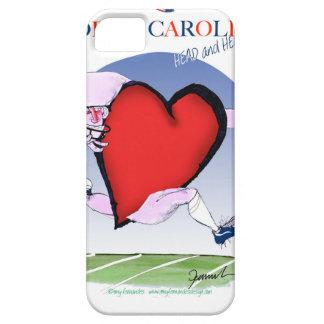 Funda Para iPhone SE/5/5s corazón principal de Carolina del Norte, fernandes