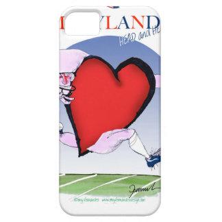 Funda Para iPhone SE/5/5s corazón principal de Maryland, fernandes tony