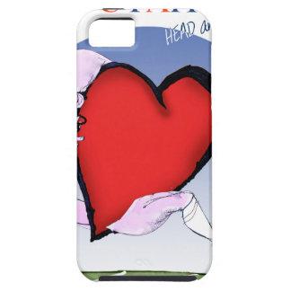 Funda Para iPhone SE/5/5s corazón principal de Utah, fernandes tony