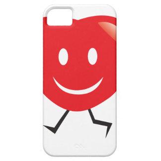Funda Para iPhone SE/5/5s corazón que camina