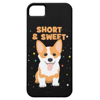 Funda Para iPhone SE/5/5s Corgi - cortocircuito y dibujo animado dulce,