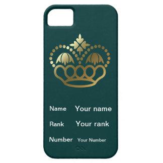 Funda Para iPhone SE/5/5s Corone con el nombre, fila, número - trullo