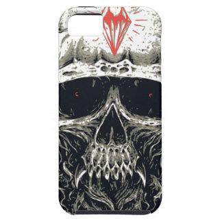 Funda Para iPhone SE/5/5s Cráneo de cuernos del diablo
