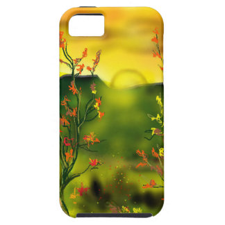 Funda Para iPhone SE/5/5s Cubierta de IPhone 5 de la puesta del sol del