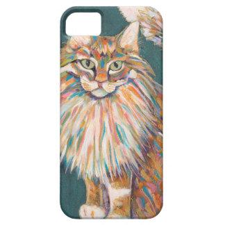Funda Para iPhone SE/5/5s Cubierta del teléfono de la impresión del gato