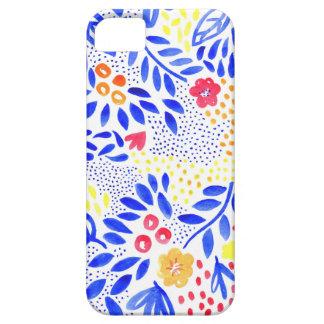 Funda Para iPhone SE/5/5s Cubierta floral intrépida del teléfono de la