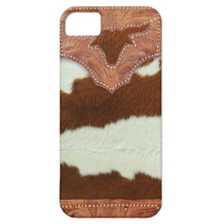 Funda Para iPhone SE/5/5s Cuero y zurriago del vaquero