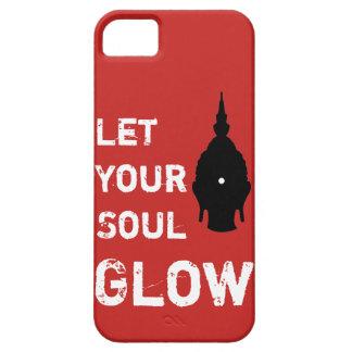 Funda Para iPhone SE/5/5s Deje su cubierta de Buda del resplandor del alma