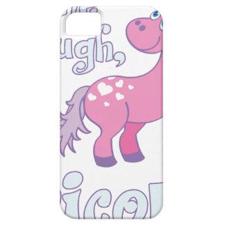 Funda Para iPhone SE/5/5s déjeme a través de i´m un unicornio