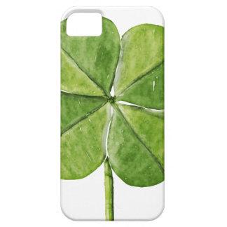Funda Para iPhone SE/5/5s Día afortunado verde de San Patricio del trébol