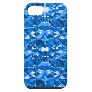 Funda Para iPhone SE/5/5s Diamantes azules eléctricos