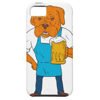 Funda Para iPhone SE/5/5s Dibujo animado de la mascota de la taza del