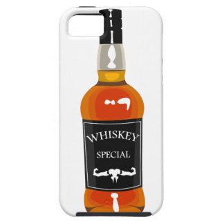 Funda Para iPhone SE/5/5s Dibujo de la botella de whisky aislado en