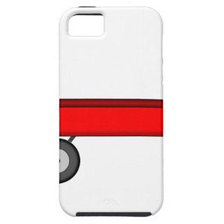Funda Para iPhone SE/5/5s Dibujo rojo del carro