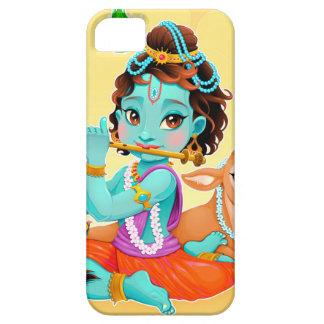 Funda Para iPhone SE/5/5s Dios indio de Krishna que juega el ejemplo de la