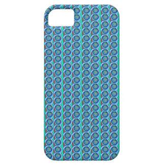 Funda Para iPhone SE/5/5s Disco AZUL de BlueStar de la chispa: por NAVIN