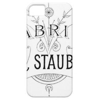 Funda Para iPhone SE/5/5s diseño alemán de la tipografía del vintage