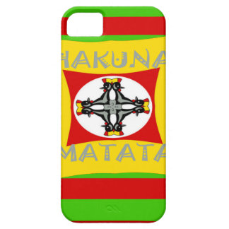 Funda Para iPhone SE/5/5s Diseño asombroso hermoso de Hakuna Matata