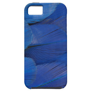 Funda Para iPhone SE/5/5s Diseño azul de la pluma del Macaw del jacinto