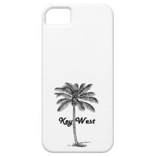 Funda Para iPhone SE/5/5s Diseño blanco y negro de Key West la Florida y de