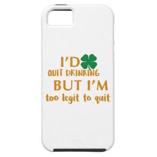 Funda Para iPhone SE/5/5s Diseño de consumición del día de St Patrick