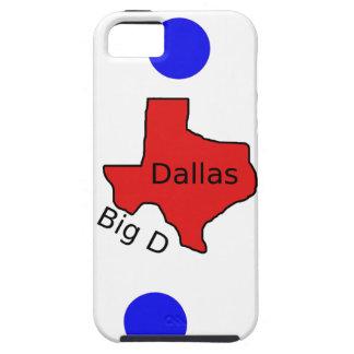 Funda Para iPhone SE/5/5s Diseño de la ciudad de Dallas, Tejas (D) grande