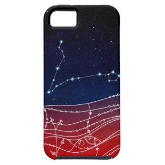 Funda Para iPhone SE/5/5s Diseño de la constelación de Piscis