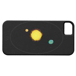 Funda Para iPhone SE/5/5s Diseño de la mirada del espacio