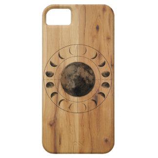 Funda Para iPhone SE/5/5s Diseño de madera de la caja del teléfono de las