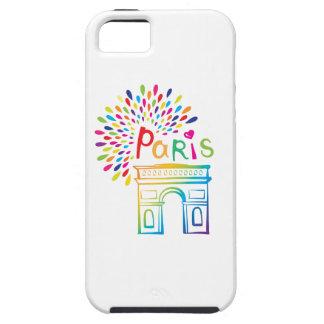 Funda Para iPhone SE/5/5s Diseño de neón de París Francia el | Arco del