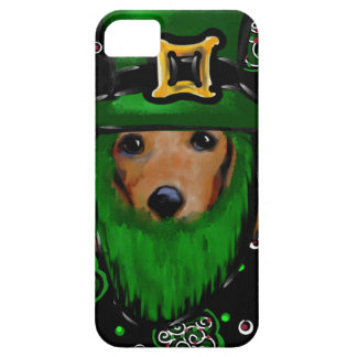 Funda Para iPhone SE/5/5s Diseño del arte del St. Patty Doxie
