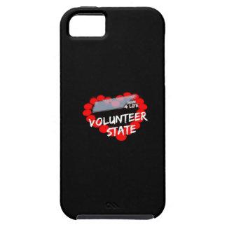 Funda Para iPhone SE/5/5s Diseño del corazón de la vela para el estado de