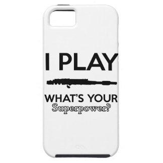 Funda Para iPhone SE/5/5s diseño divertido de las flautas