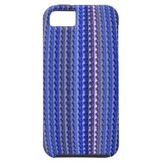 Funda Para iPhone SE/5/5s Diseño geométrico púrpura colorido brillante mega