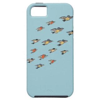 Funda Para iPhone SE/5/5s Diseño personalizado del pájaro del vintage del |